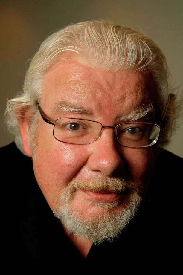 "Actor Richard Griffiths poses for a photograph in New York, in this Wednesday, June 18, 2008 file photo. Griffiths, the British actor who played the boy wizard's unsympathetic Uncle Vernon in the ""Harry Potter"" movies, has died. He was 65. Agent Simon Beresford announced Friday March 28 2013 that Griffiths died Thursday of complications following heart surgery at University Hospital of Coventry in central England.  (AP Photo/Kathy Willens, file) Photo: Kathy Willens"
