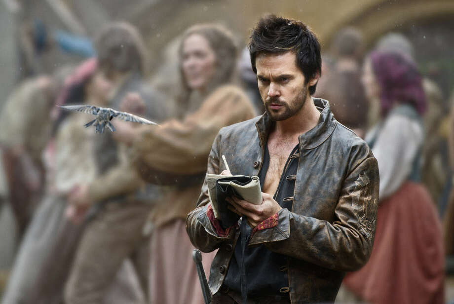"Tom Riley is Leonardo da Vinci in ""Da Vinci's Demons,"" premiering April 12. Photo: Starz Entertainment"