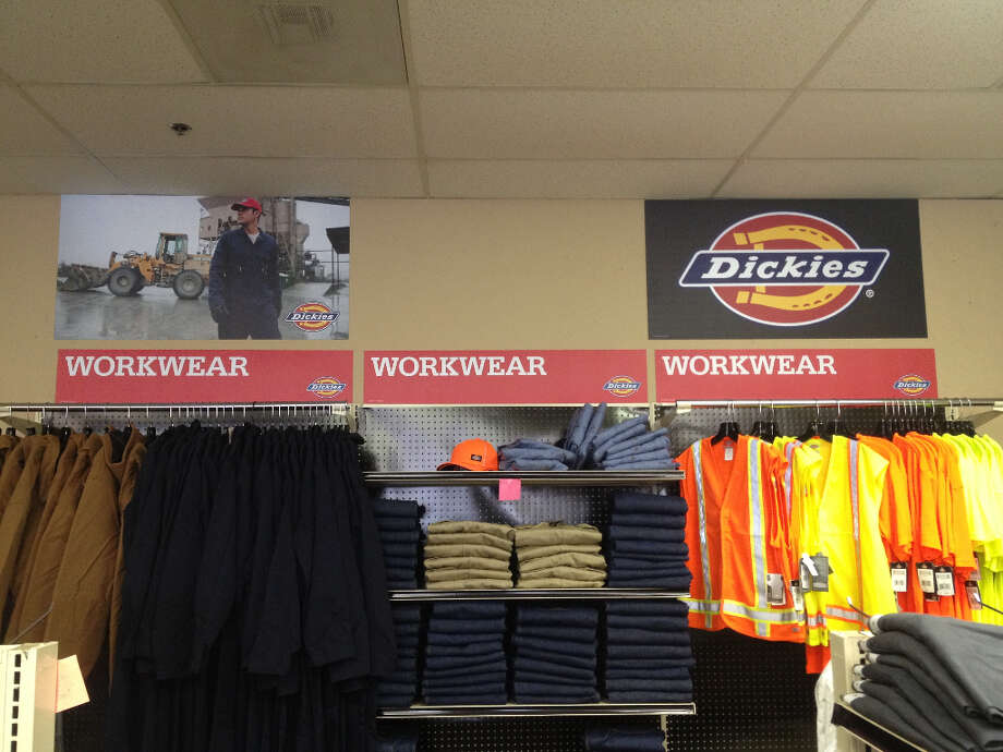 The Dickies clothing store is a brand of Fort Worth-based Williamson Dickie Mfg. Co.