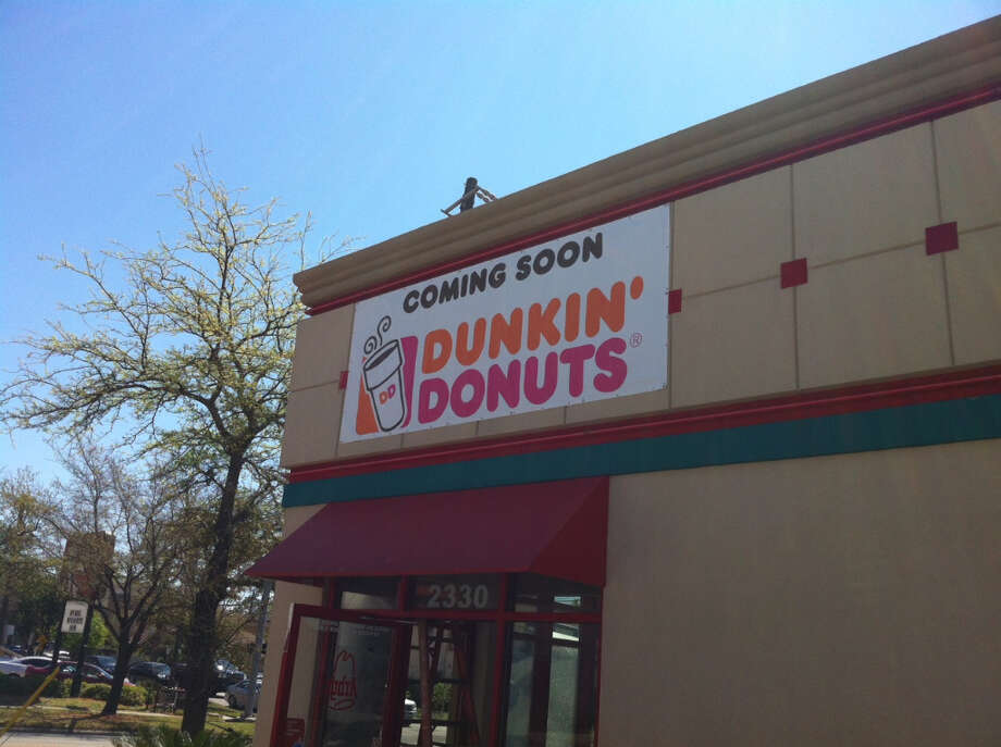 Dunkin' Donuts will take over the former Arby's location at Shepherd Drive and Fairview.