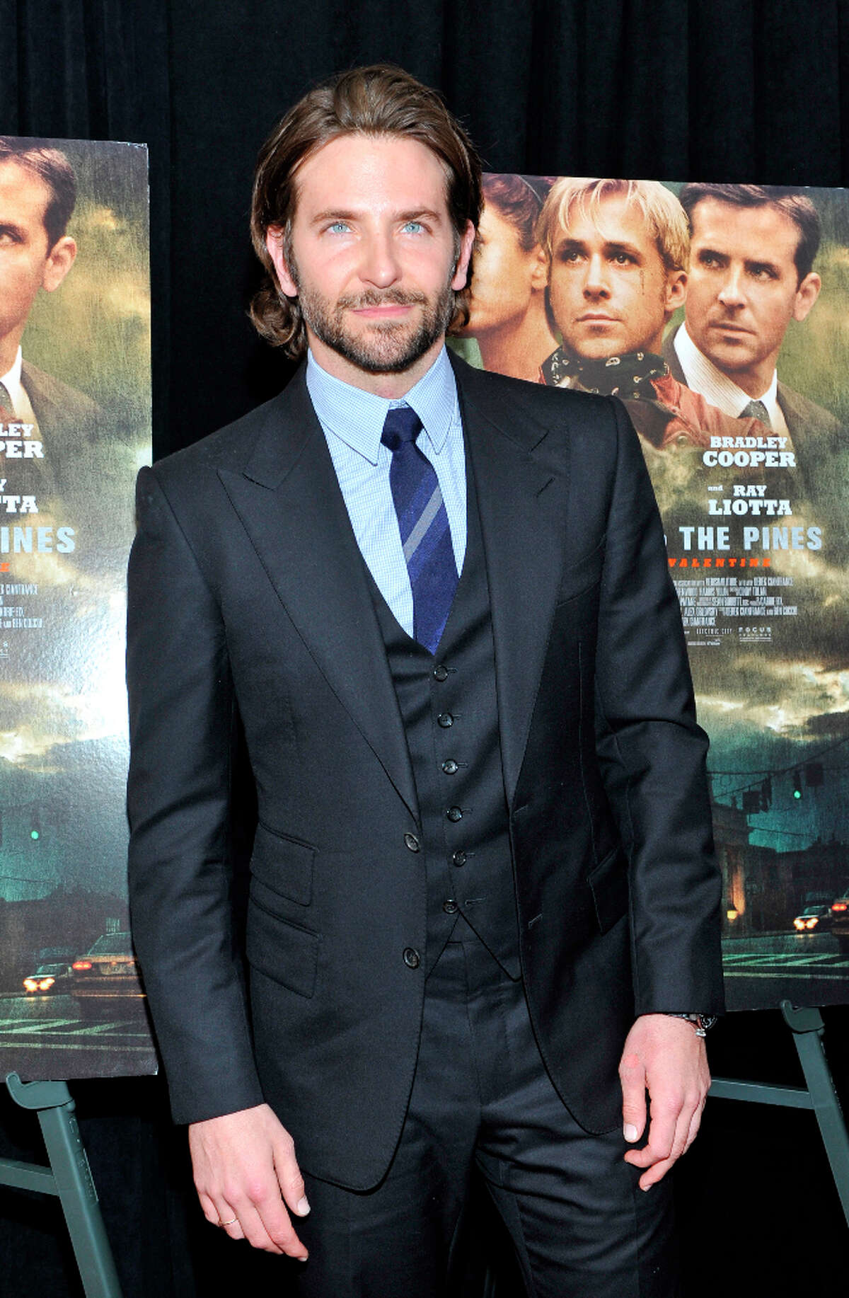 Bradley Cooper attends 'The Place Beyond The Pines' New York Premiere at Landmark Sunshine Cinema on March 28, 2013 in New York City.
