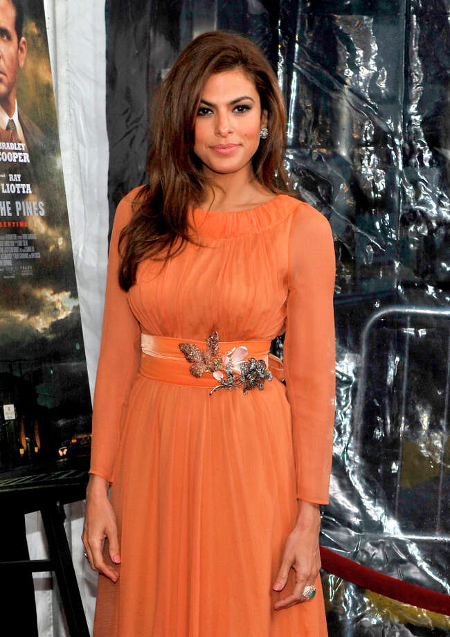 Eva Mendes attends 'The Place Beyond The Pines' New York Premiere at Landmark Sunshine Cinema on March 28, 2013 in New York City. Photo: Michael N. Todaro, FilmMagic / 2013 Michael N. Todaro