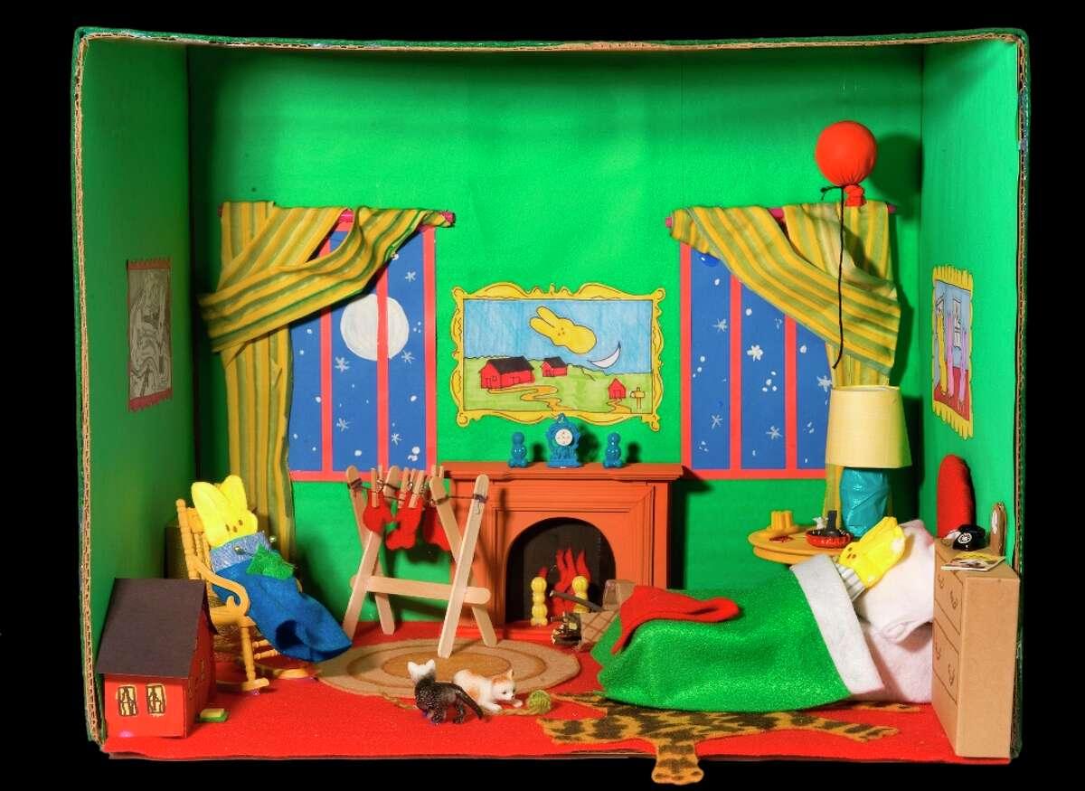 Washington Post magazine peeps diorama winners, 2010 (Photo by Bill O'Leary/The Washington Post via Getty Images)