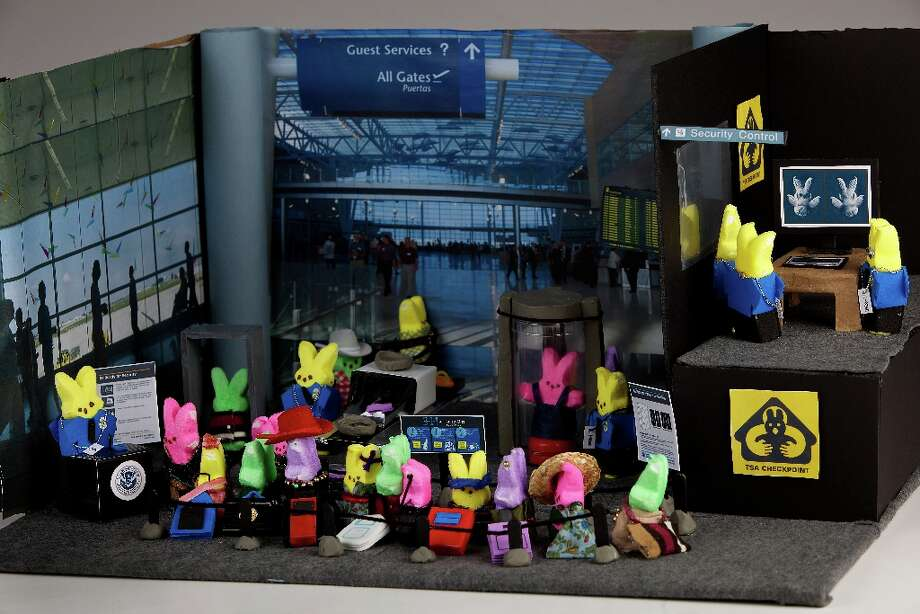TSA at the airport diorama, 2011.  (Photo by Deb Lindsey for The Washington Post via Getty Images) Photo: The Washington Post, The Washington Post/Getty Images / 2011 The Washington Post