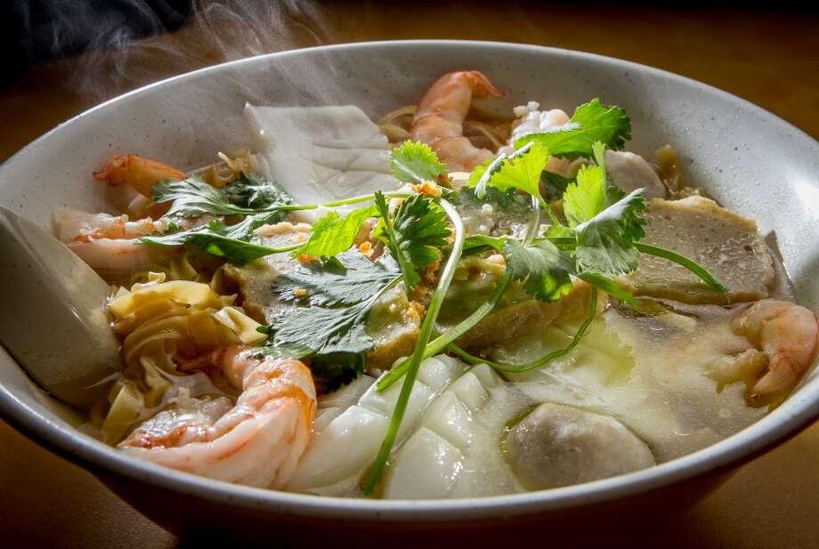 The Seafood Egg Noodle Soup at Hai Ky Noodle House ($7.36)