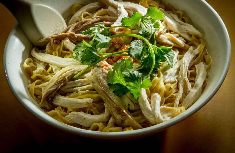 The Shredded Chicken Egg Noodle Soup at Hai Ky Noodle House ($7.36)