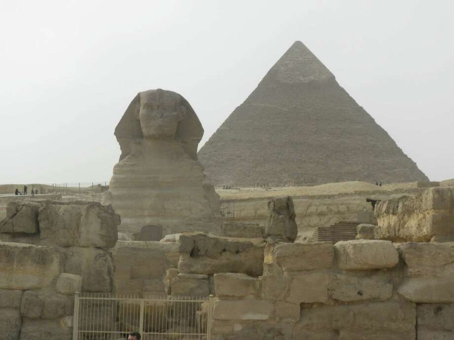 Eqyptian pyramids (Azra Haqqie/Times Union)