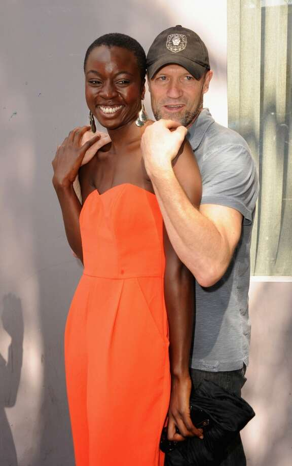Danai Gurira, with ''Walking Dead'' co-star Michael Rooker, in 2012.