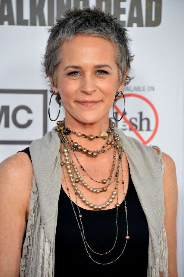 Melissa McBride, who plays Carol in ''The Walking Dead,'' is pictured in 2012.