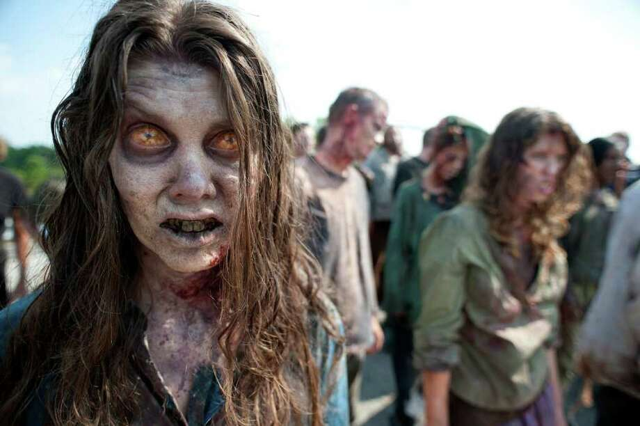 Zombies galore.  Photo: AMC