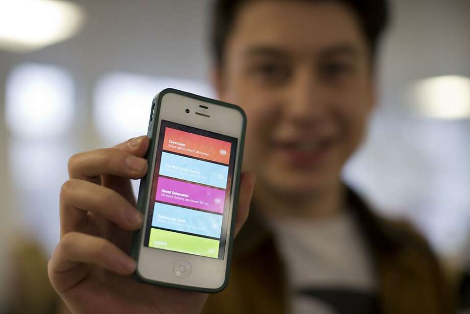 Nick D'Aloisio created Summly, which Yahoo bought for a reported $30 million. Photo: Matt Dunham, Associated Press
