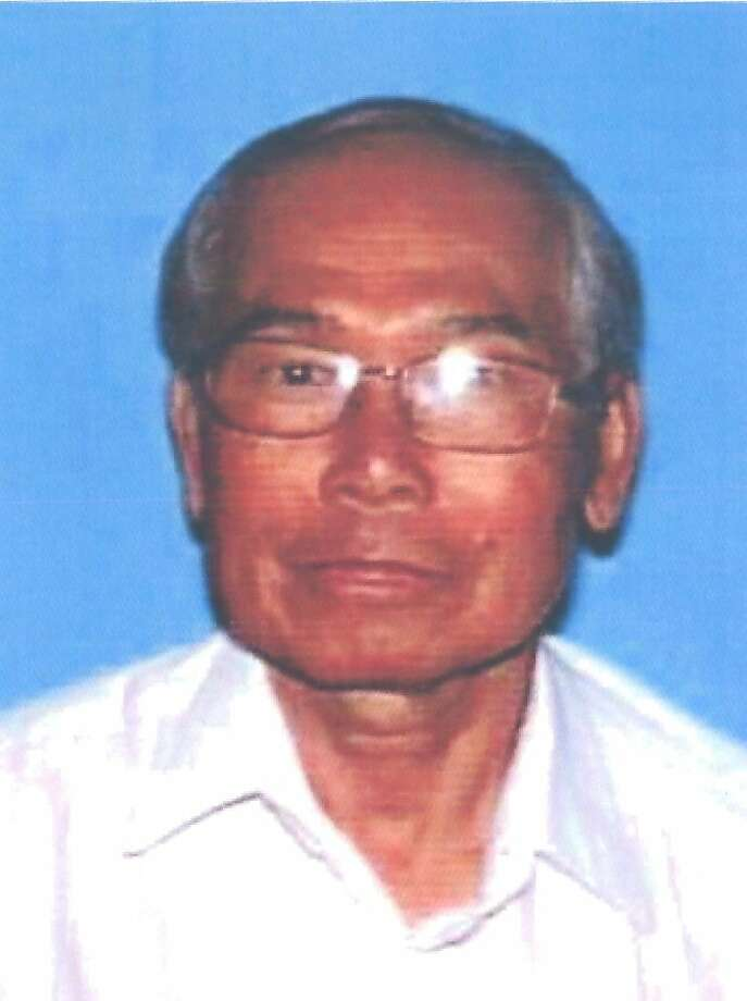 Phang Phetsomphou, 76, of Petaluma, died on Thursday, March 28, 2013 when his car was crushed by a trucker on Interstate 80 near Davis. Photo: Calif. DMV, Courtesy