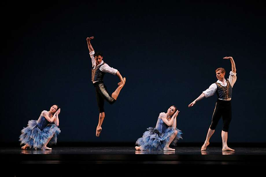 "Alexei Ratmansky, creator of ""From Foreign Lands,"" above, has a trilogy for '14. Photo: Erik Tomassom, San Francisco Ballet"