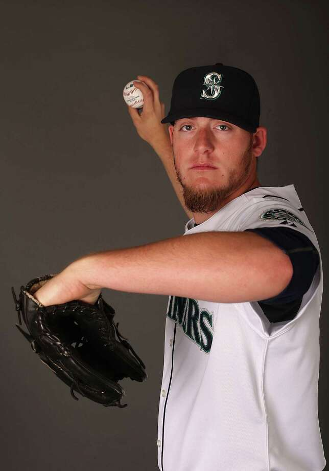 "2) Brandon Maurer. The 22-year-old makes the jump from Double-A Jackson to fourth starter in the Mariners' rotation after a sensational spring. Wedge says that Maurer has five ""plus"" pitches. He could be a mainstay in the rotation for years to come. Photo: Christian Petersen, Getty Images / 2013 Getty Images"