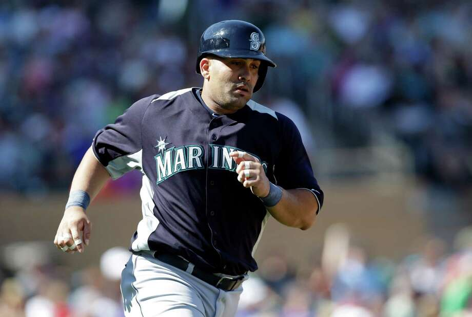 12) Kendrys Morales.Raise your hand if you'll miss Jason Vargas after seeing Morales in the batter's box night after night. He figures to be a switch-hitting terror at Safeco Field and every other ballpark. Morales is nearly two years removed from that freak injury when he broke his leg celebrating a walk-off home run for the Angels against the Mariners. Over-under on combined homers for Morales and Morse is 60, and I'm taking the over. Photo: AP
