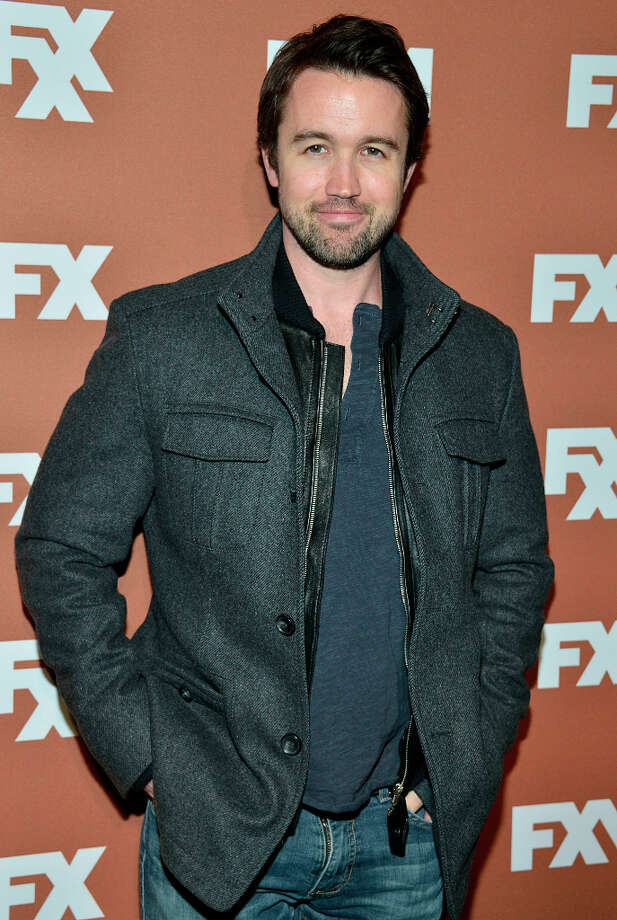 Rob McElhenney attends the 2013 FX Upfront Bowling Event at Luxe at Lucky Strike Lanes on March 28, 2013 in New York City. Photo: Eugene Gologursky, WireImage / 2013 Eugene Gologursky