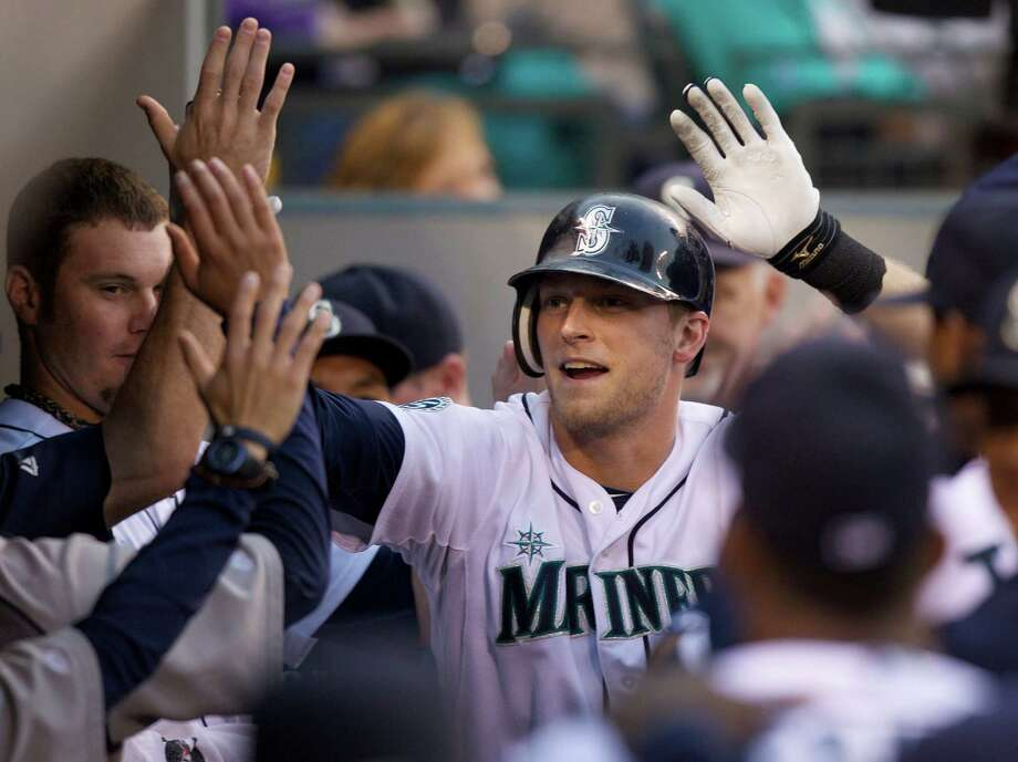 22) Michael Saunders. The speedy outfielder struggled at the end  of spring training, but did you see his stats for Canada in the World  Baseball Classic? He went 8-for-11 with three doubles, a homer and seven  RBI in three games. Could be a star in the making. Photo: Stephen Brashear, Getty Images / 2012 Getty Images