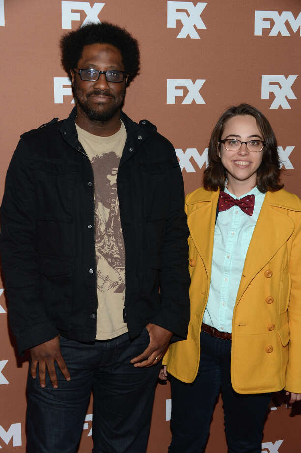 W. Kamau Bell and Janine Brido attend the 2013 FX Upfront Bowling Event at Luxe at Lucky Strike Lanes on March 28, 2013 in New York City. Photo: Dimitrios Kambouris, Getty Images / 2013 Getty Images
