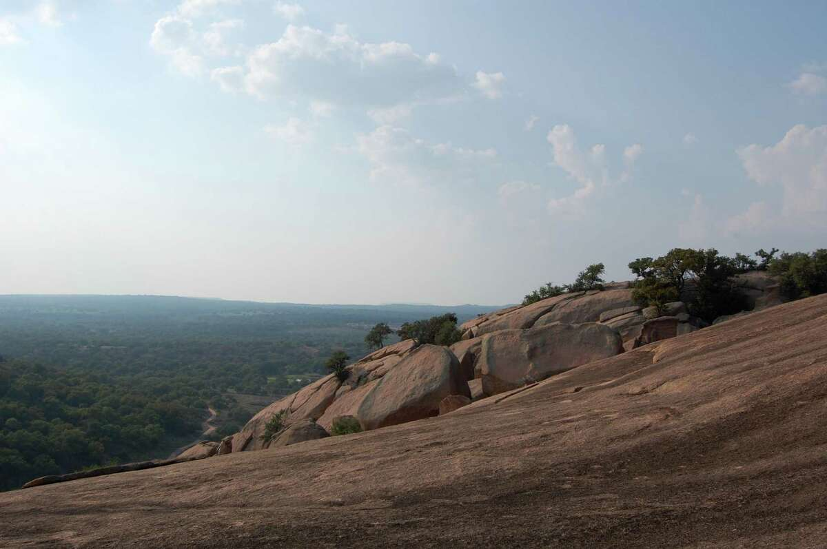 Enchanted Rock State Park in the Hill Country-International dark sky park-Class 3 park with very dark skies