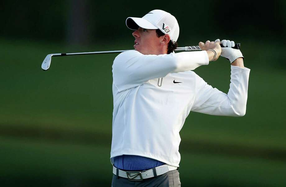 HUMBLE, TX - MARCH 29:  Rory McIlroy of Northern Ireland watches his second shot on the 11th hole during the second round of the Shell Houston Open at the Redstone Golf Club on March 29, 2013 in Humble, Texas. Photo: Scott Halleran, Getty Images / 2013 Getty Images