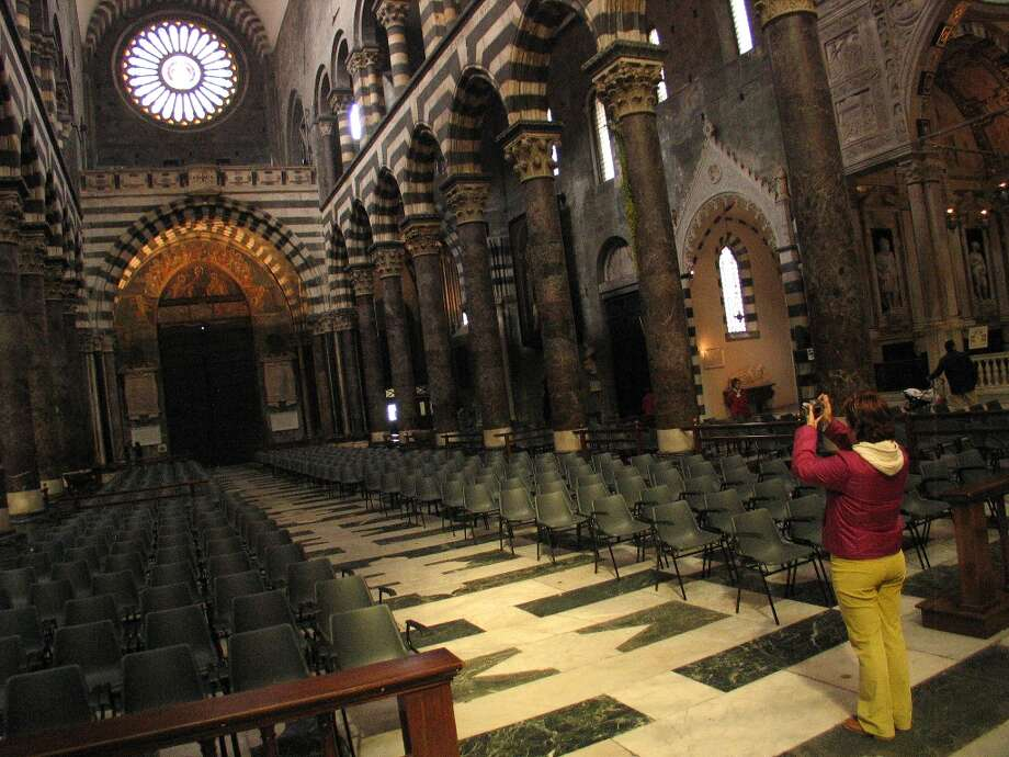 Interior of the Cattedrale di San Lorenzo. Photo: Spud Hilton, The Chronicle / The Chronicle
