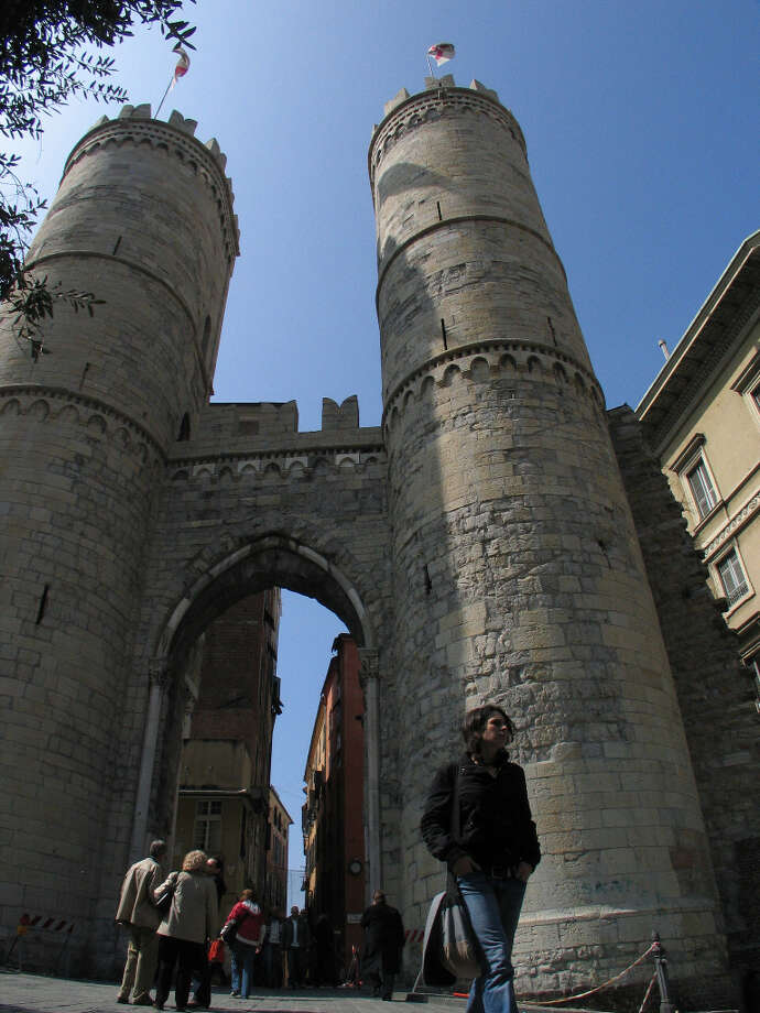 The Porta Soprana, the medieval gates to the old part of the city. Photo: Spud Hilton, SFC / The Chronicle
