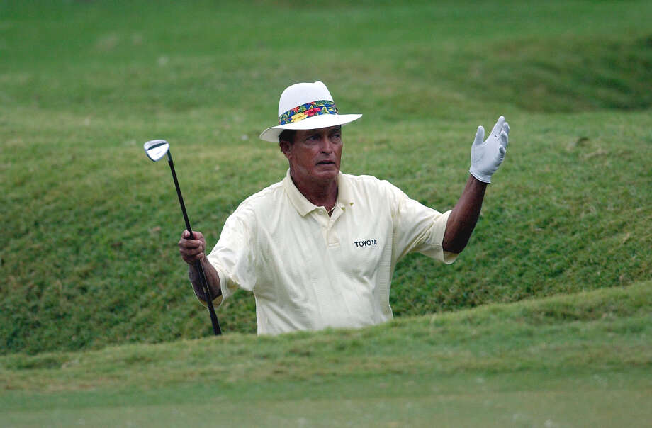 Chi Chi Rodriguez, playing at a senior event at Oak Hills in 2002, won the 1967 Texas Open at Pecan Valley. Photo: TOM REEL, EN / SAN ANTONIO EXPRESS-NEWS