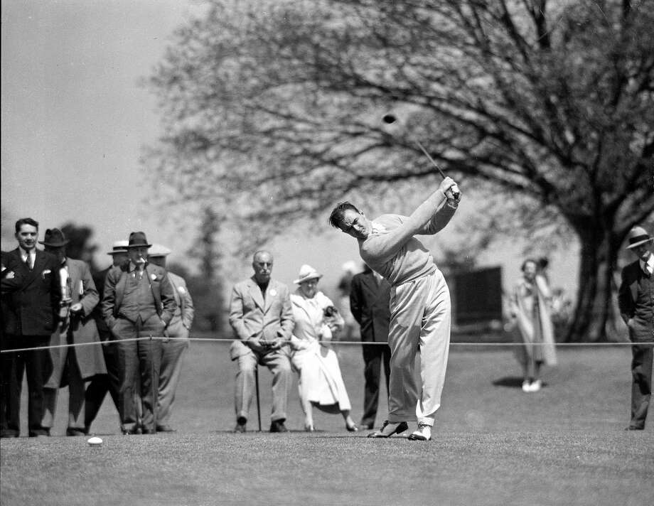 Sam Sneed won the Texas Open twice, the first time in 1948 at Willow Springs. Photo: EN / AP