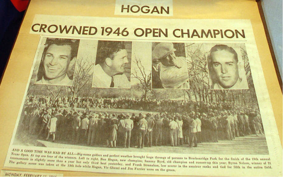 Ben Hogen won the 1946 Texas Open at Willow Springs. Photo: EN