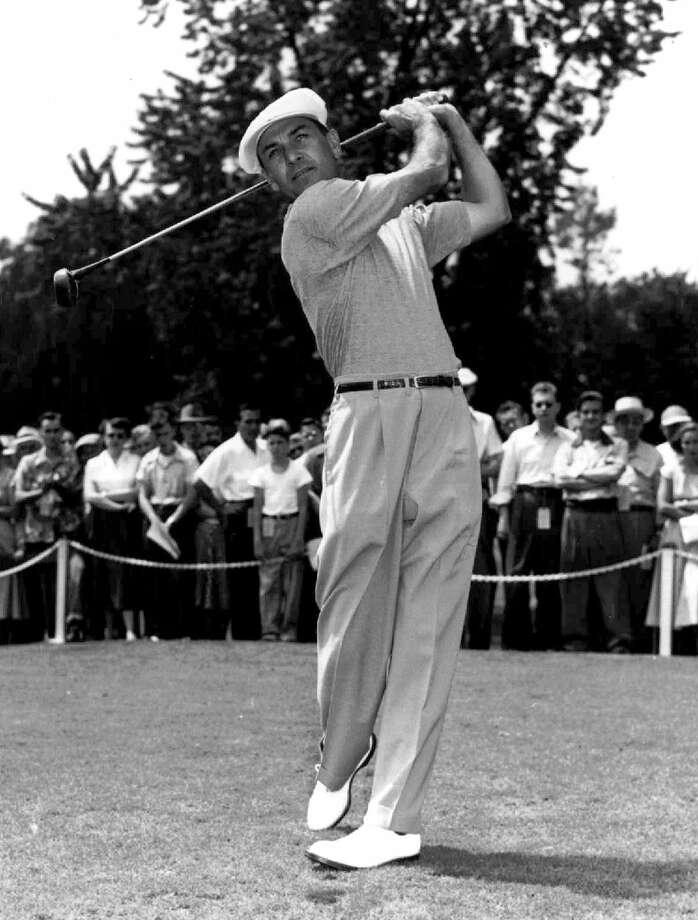 Ben Hogen won the 1946 Texas Open at Willow Springs.  Photo: EN