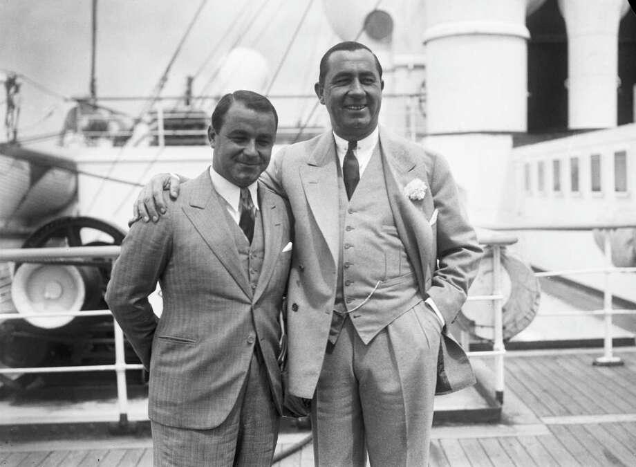 Walter Hagen (right) won in 1923 at Brackenridge. Photo: Keystone, EN / 2010 Getty Images