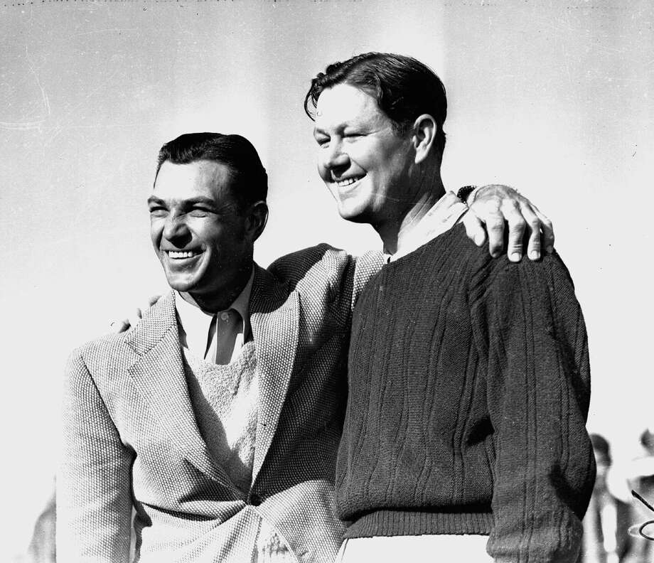 For decades, legendary golfers like Ben Hogan (left) and Byron Nelson came to San Antonio to play in the Texas Open. Photo: EN / AP