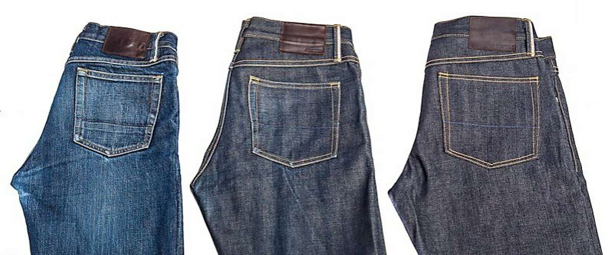 Local denim company Gustin Jeans were available for pre-order during a Kickstarter campaign at a wholesale cost of $99. The brand has 19 different selvage offerings (sourced from top mills in Japan, Italy and the United States) cut from limited-edition denims and design details such as tucked belt loops, selvage flies and side seams, Italian leather brand patches, etc.