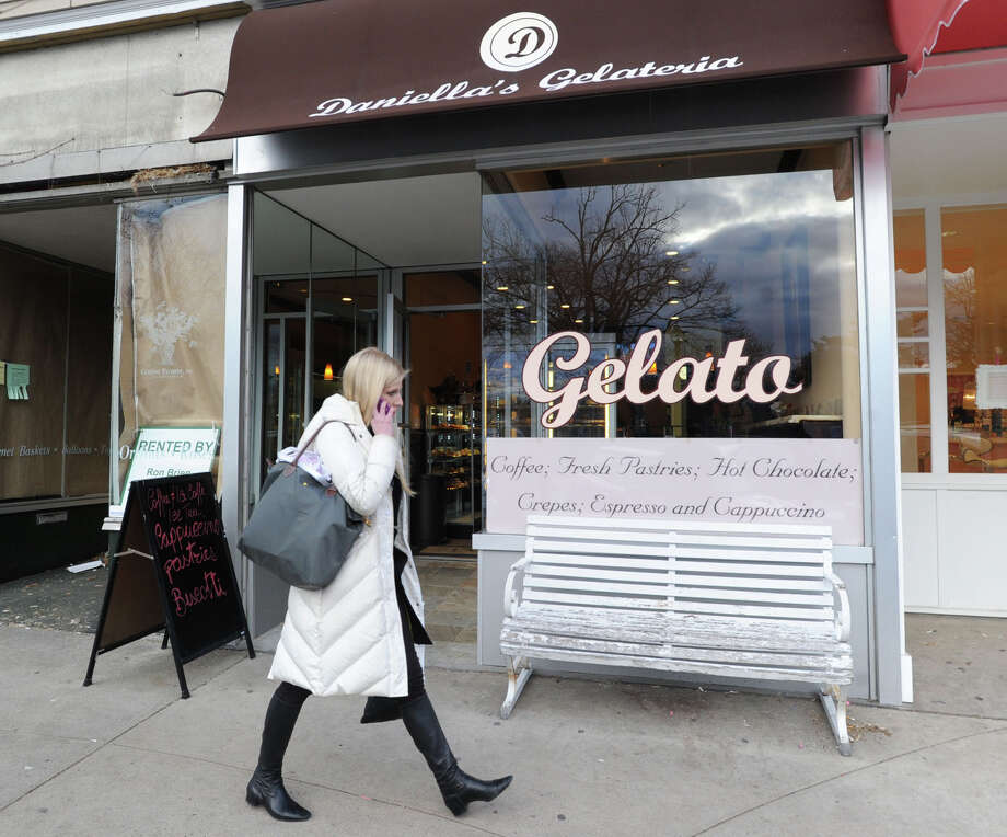 La Fenice owned by Simona Silvestri at 315 Greenwich Ave., Thursday, March 28, 2013. The shop specializes in gelato and Italian pastries. Photo: Bob Luckey / Greenwich Time