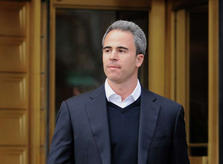 Michael Steinberg, SAC Capital Advisors LP fund manager, who worked at SAC's Sigma Capital Management unit, exits federal court in New York, U.S., on Friday, March 29, 2013. Steinberg was indicted by a federal grand jury on five counts of conspiracy and securities fraud as the U.S. government's wide ranging probe of insider trading at the  $15 billion firm got one step closer to founder Steven A. Cohen. Photographer: Jonathan Fickies/Bloomberg *** Local Caption *** Michael Steinberg Photo: Jonathan Fickies, Bloomberg / © 2013 Bloomberg Finance LP