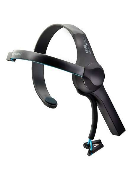 The MindWave Mobile headset can read brain signals. Photo: NeuroSky