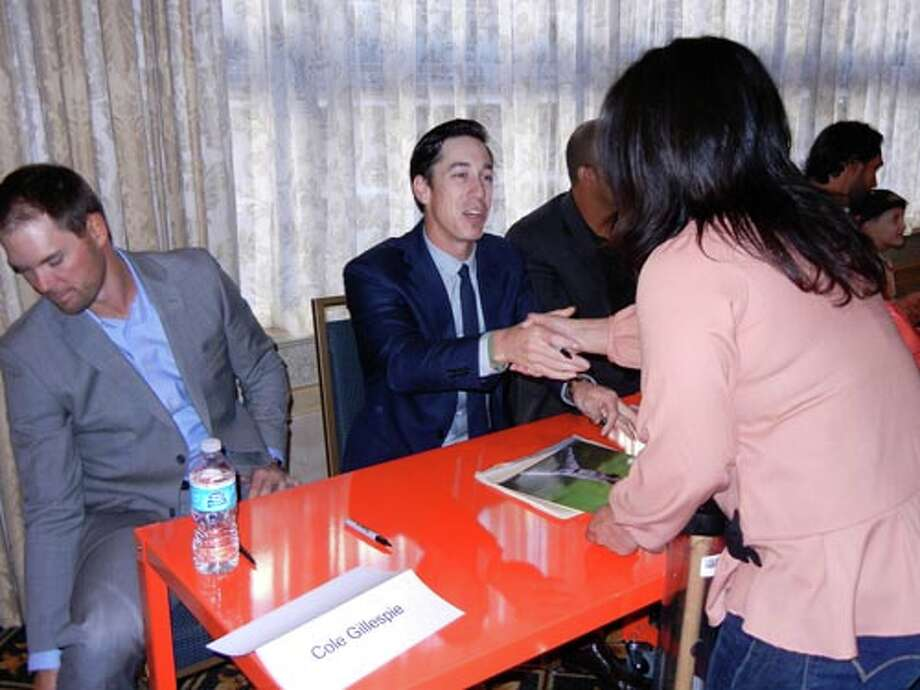 SF Giants pitcher Tim Lincecum at the Giants Play Ball Lunch