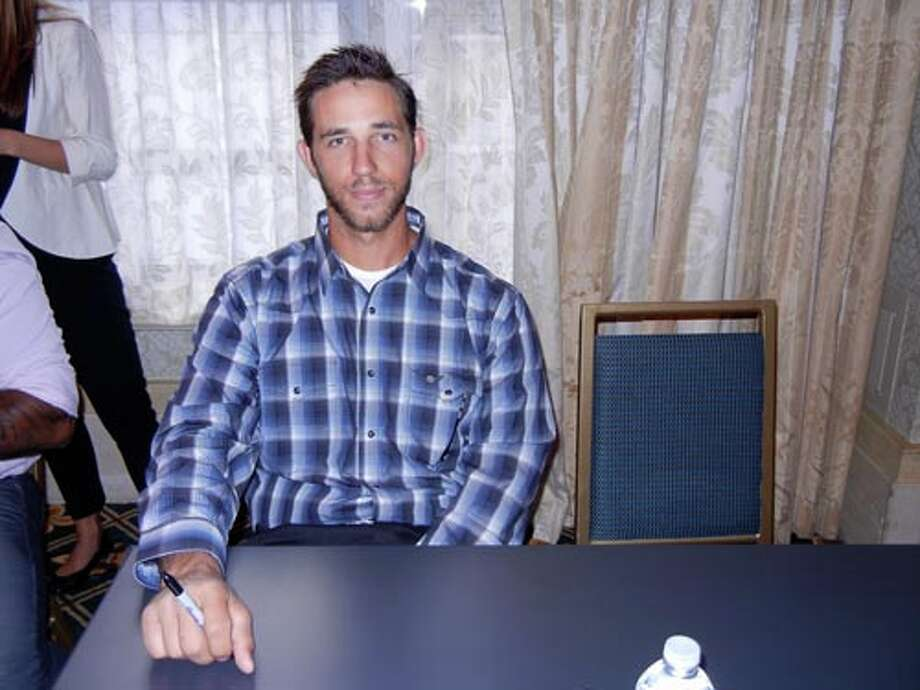 SF Giants pitcher Madison Bumgarner at the Giants Play Ball Lunch
