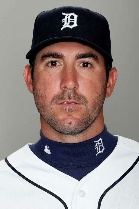 FILE - MARCH 29:  According to reports March 29, 2013, Justin Verlander has signed a seven-year contract extension withteh Detroit Tigers worth at least $180 million. LAKELAND, FL - FEBRUARY 19:  Justin Verlander of the Detroit Tigers poses for a portrait on February 19, 2013 in Lakeland, Florida.  (Photo by Matthew Stockman/Getty Images) Photo: Matthew Stockman, Staff / 2013 Getty Images