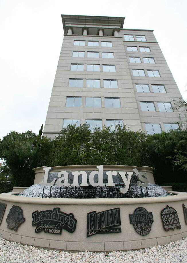 Landry's headquarters is located at 1510 West Loop South. Tilman Fertitta, CEO of Landry's has made a bid to buy the outstanding shares to make the private. Fertitta, who owns 39% of the company is offering to acquire all outstanding common stock, according to a statement released by Landry's. The deal would be worth $1.3 billion. (Monday, Jan. 28, 2008, in Houston. ( Steve Campbell / Chronicle). Photo: Steve Campbell, Staff / Houston Chronicle