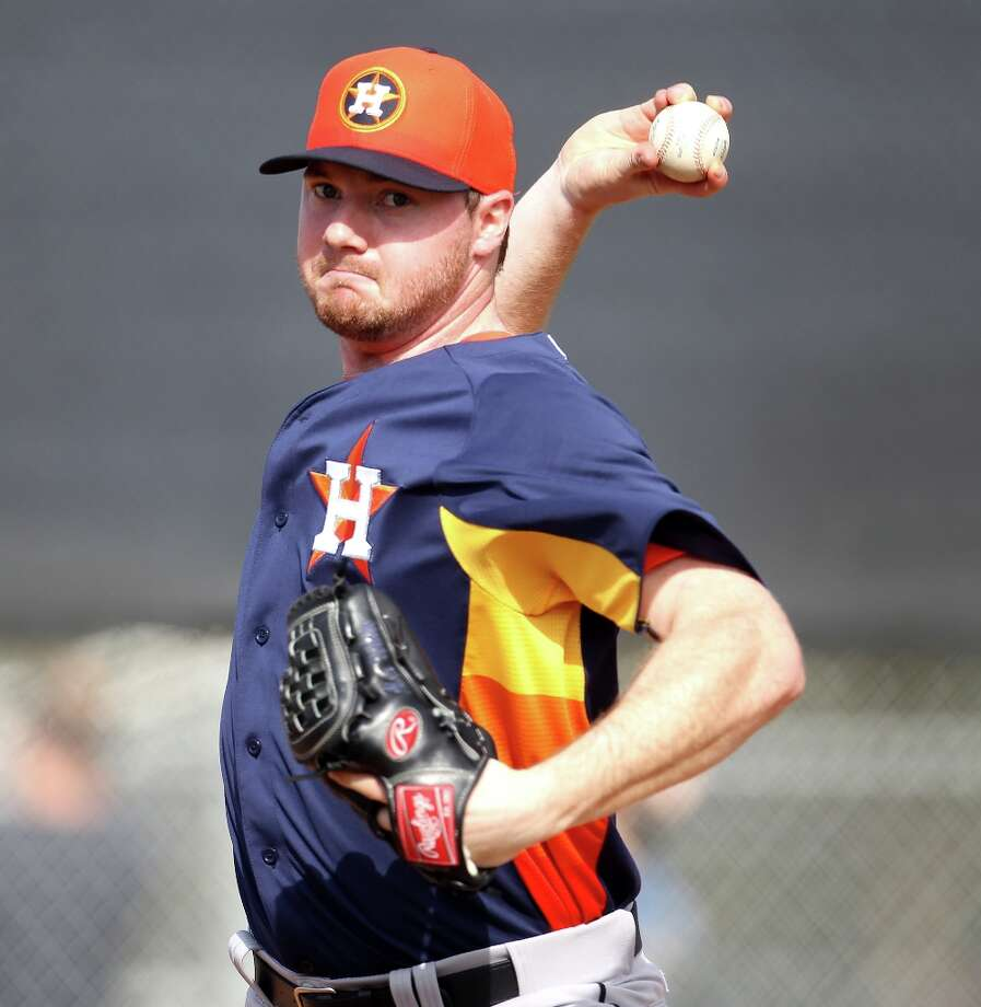 Alex White (RHP) Photo: Karen Warren / © 2013 Houston Chronicle
