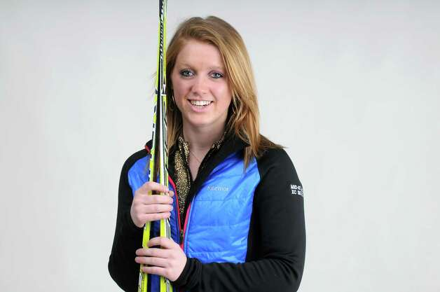 Lake George senior Emma Underwood is the Times Union's Girls' Nordic MVP Friday, March 28, 2013, in Colonie, N.Y.  (Will Waldron/Times Union) Photo: Will Waldron