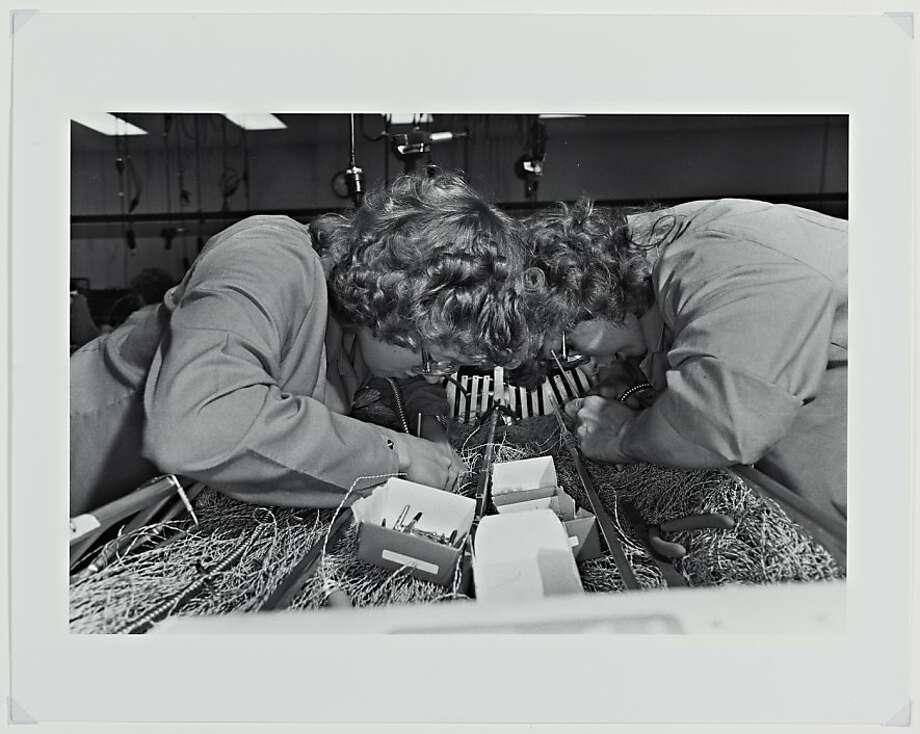 """Cray at Chippewa Falls, Wisconsin"" (1986) Gelatin silver print by Lee Friedlander Photo: Lee Friedlander"