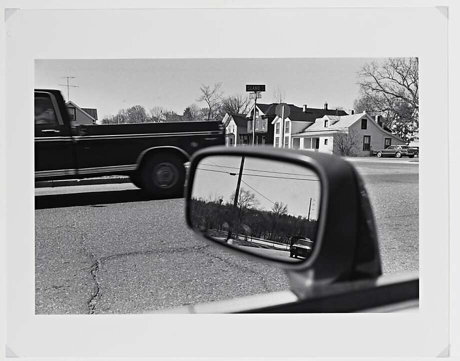 """Cray at Chippewa Falls, Wisconsin"" (1986) Gelatin silver print by Lee Friedlander Photo: Lee Friedlander"