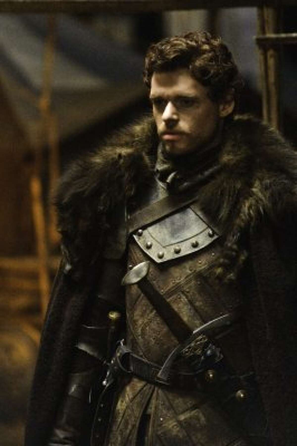 Robb Stark (Richard Madden) : The King of the North has enjoyed a run of victories in his battles against the Lannisters, but he's finding leadership exhausting, especially after his mother frees Jaime Lannister in hope of getting her daughters back.