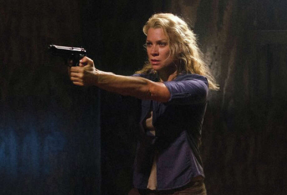 Laurie Holden plays tough sharpshooter Andrea on ''The Walking Dead.'' Photo: Gene Page/AMC