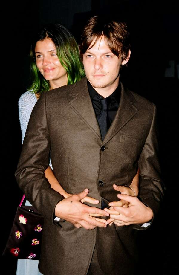 Norman Reedus also had a longtime  relationship and child with model Helena Christiensen. They're pictured in 1998.