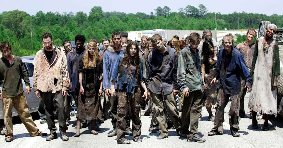 More walkers, from Season 2.