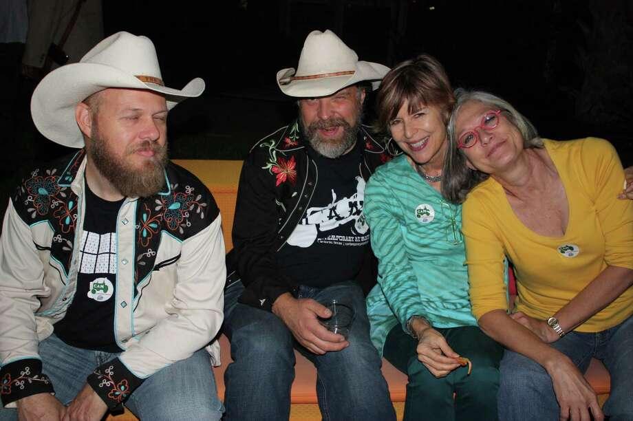 San Antonians had a last hurrah with music, art and food. Photo: Libby Castillo, MySA.com