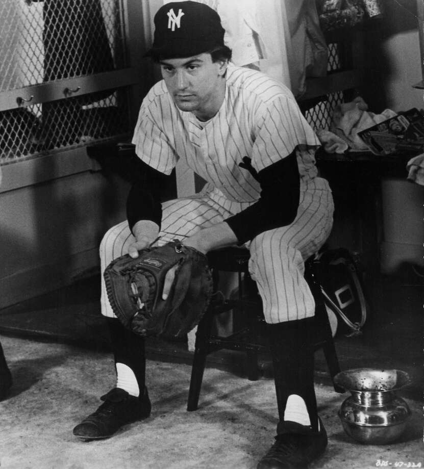 Catcher: Bruce Pearson (Robert de Niro) in Bang the Drum Slowly — There are many great catchers, but Pearson's got to start. He's dying. Photo: Michael Ochs Archives, Getty Images / Moviepix